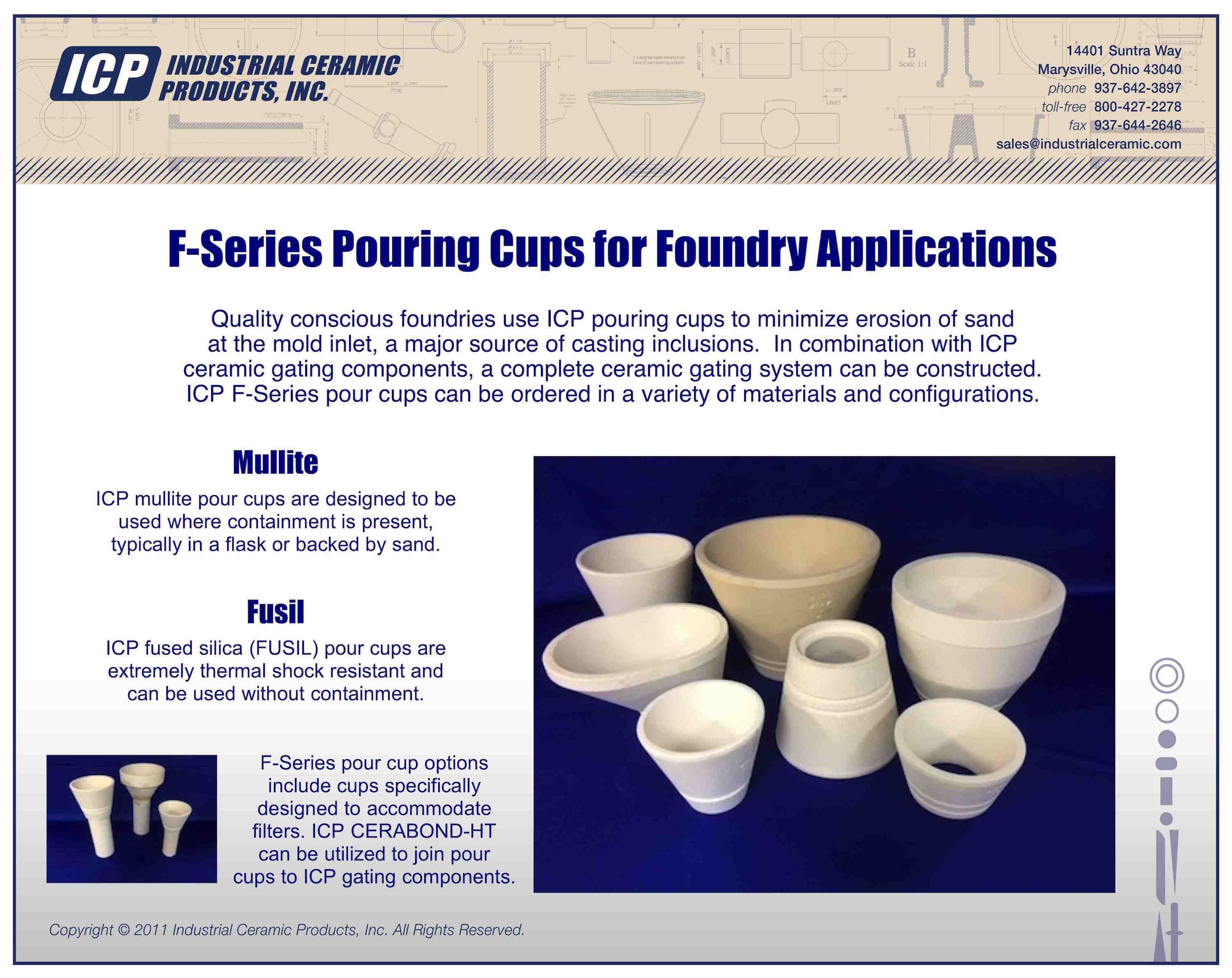 Foundry Products Industrial Ceramic Products